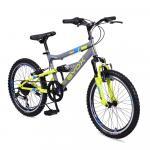 Bicicleta pentru copii Byox Versus Grey 6 viteze 20 inch