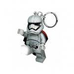 Breloc cu lanterna LEGO Star Wars Captain Phasma