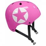 Casca de protectie Pink Star