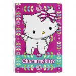Caiet cu spira A4 80 de file colectia Charmmy Kitty