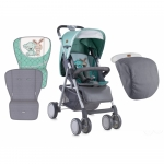 Carucior Landou Aero Gray & Green Friends
