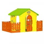 Casuta pentru copii Mochtoys Garden House cu gardut 11105