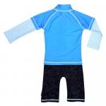 Costum de baie Blue Ocean marime 62-68 protectie UV Swimpy