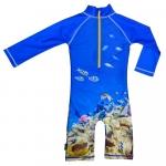 Costum de baie Coral Reef marime 74-80 protectie UV Swimpy