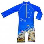 Costum de baie Coral Reef marime 98-104 protectie UV Swimpy