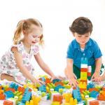 Cuburi mari de construit - 48 piese