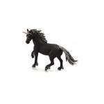Figurina unicorn negru