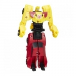 Figurine Transformers crash combiners Sideswipe vs Bumblebee