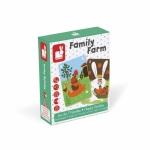 Joc de carti familii fericite la ferma