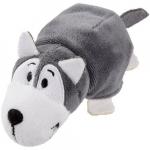 Mascota FlipZees 12.5 cm catel husky si urs polar
