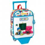 Mini-ghiozdan trolley gradinita Pocoyo Abc