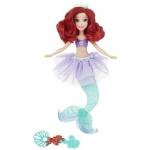 Papusa Disney Princess Ariel tiara cu bule