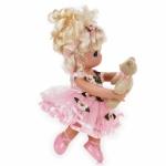 Papusa decor, Danseaza cu mine - blonda, 23 cm - Precious Moments