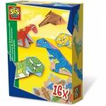 Dinozauri din hartie 16 buc