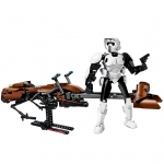 Scout Trooper si Speeder Bike (75532)