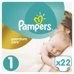 Scutece Pampers Premium Care 1 Small Pack Nou Nascut 22 buc