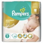 Scutece Pampers Premium Care 1 Value Pack Nou Nascut 88 buc