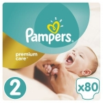Scutece Pampers Premium Care 2 Mini 80 buc