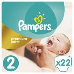 Scutece Pampers Premium Care 2 Small Pack Mini 22 buc