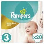 Scutece Pampers Premium Care 3 Small Pack Midi 20 buc