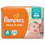 Scutece Pampers Sleep&Play 4maxi 8-14 kg 50buc