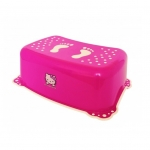 Taburet copii Hello Kitty roz alb antialunecare