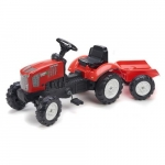 Tractor power green dynamics cu remorca