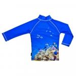 Tricou de baie Coral Reef marime 98-104 protectie UV Swimpy