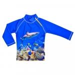Tricou de baie Coral Reef marimea 110-116 protectie UV Swimpy