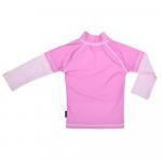Tricou de baie Pink Ocean marime 86-92 protectie UV Swimpy