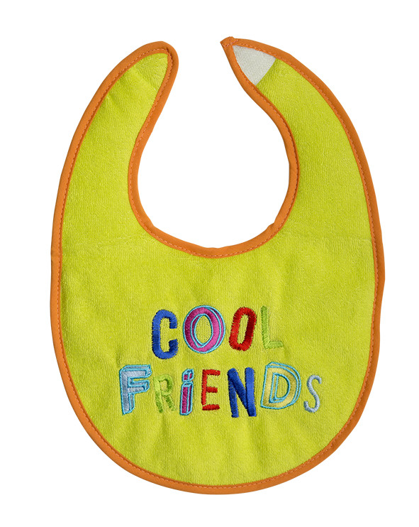 Baveta Cool friends 21x25cm 0L+ Rotho babydesign