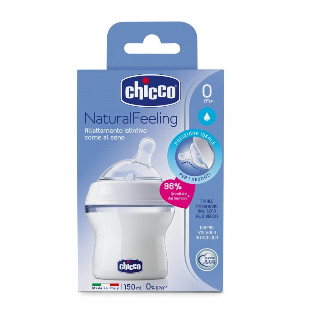 Biberon Chicco Step Up 150ml T.S. flux normal 0+