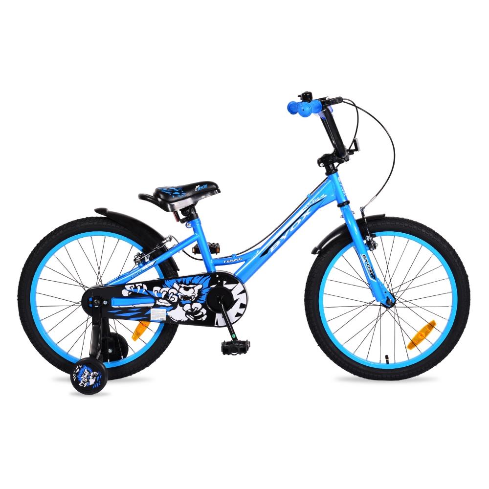Bicicleta pentru baieti cu roti ajutatoare Byox Ferine 20 inch din categoria La Plimbare de la Byox