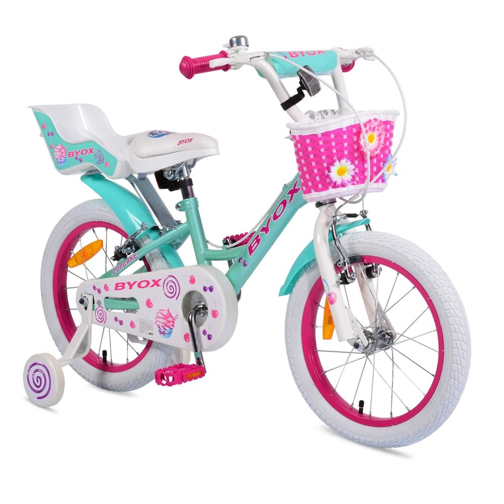 Bicicleta pentru fetite Byox Cupcake 14 inch