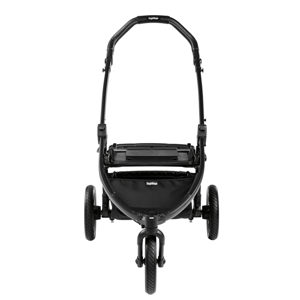 Carucior 3 in 1 Peg Perego Book Scout Matt Black Elite Modular Luxe Grey