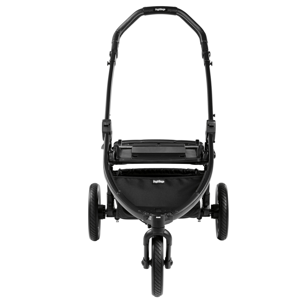 Carucior 3 in 1 Peg Perego Book Scout Matt Black Pop-Up Elite Luxe Grey