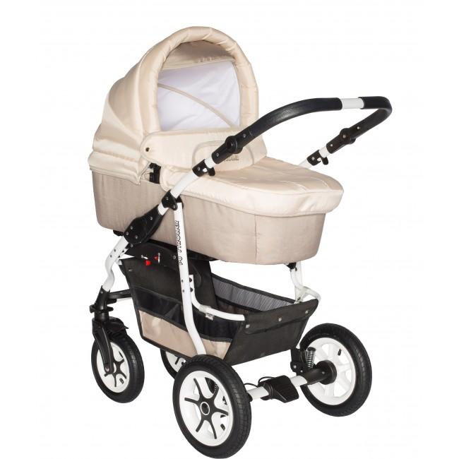 Carucior bebelusi 3in1 Pj Stroller Comfort Cappucino