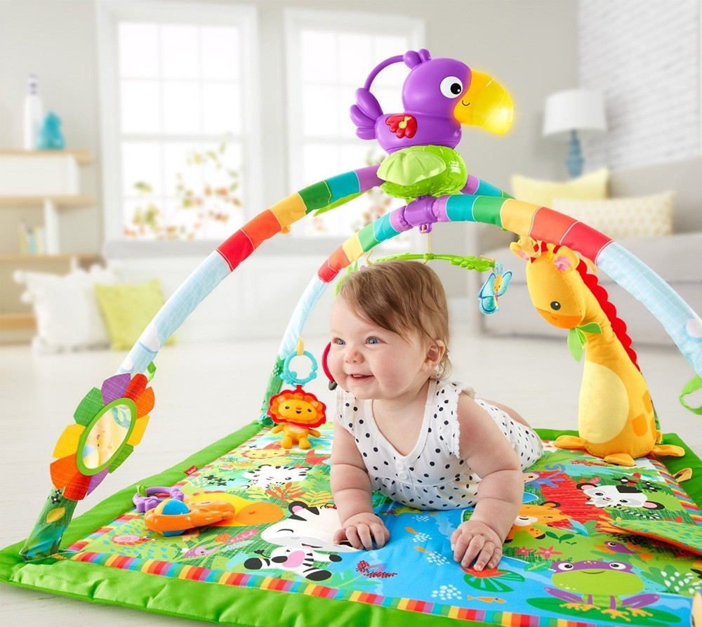 Centru de activitati Deluxe Gym Fisher Price