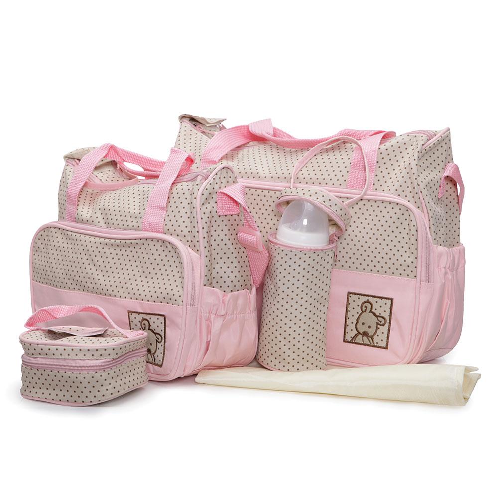 Geanta pentru mamici Mama Bag Stella Pink imagine