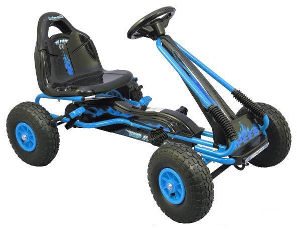 Kart cu pedale Speed Fever Blue