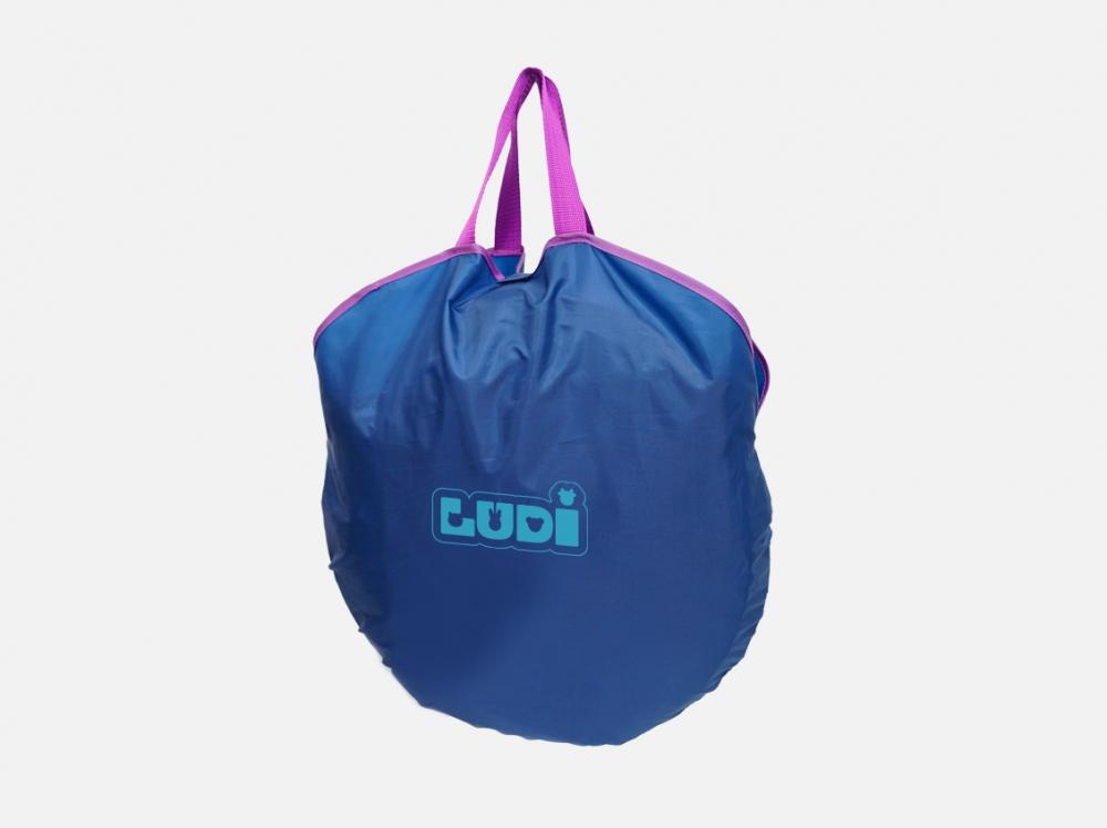 Cort UV pop-up de calatorie bleu Ludi