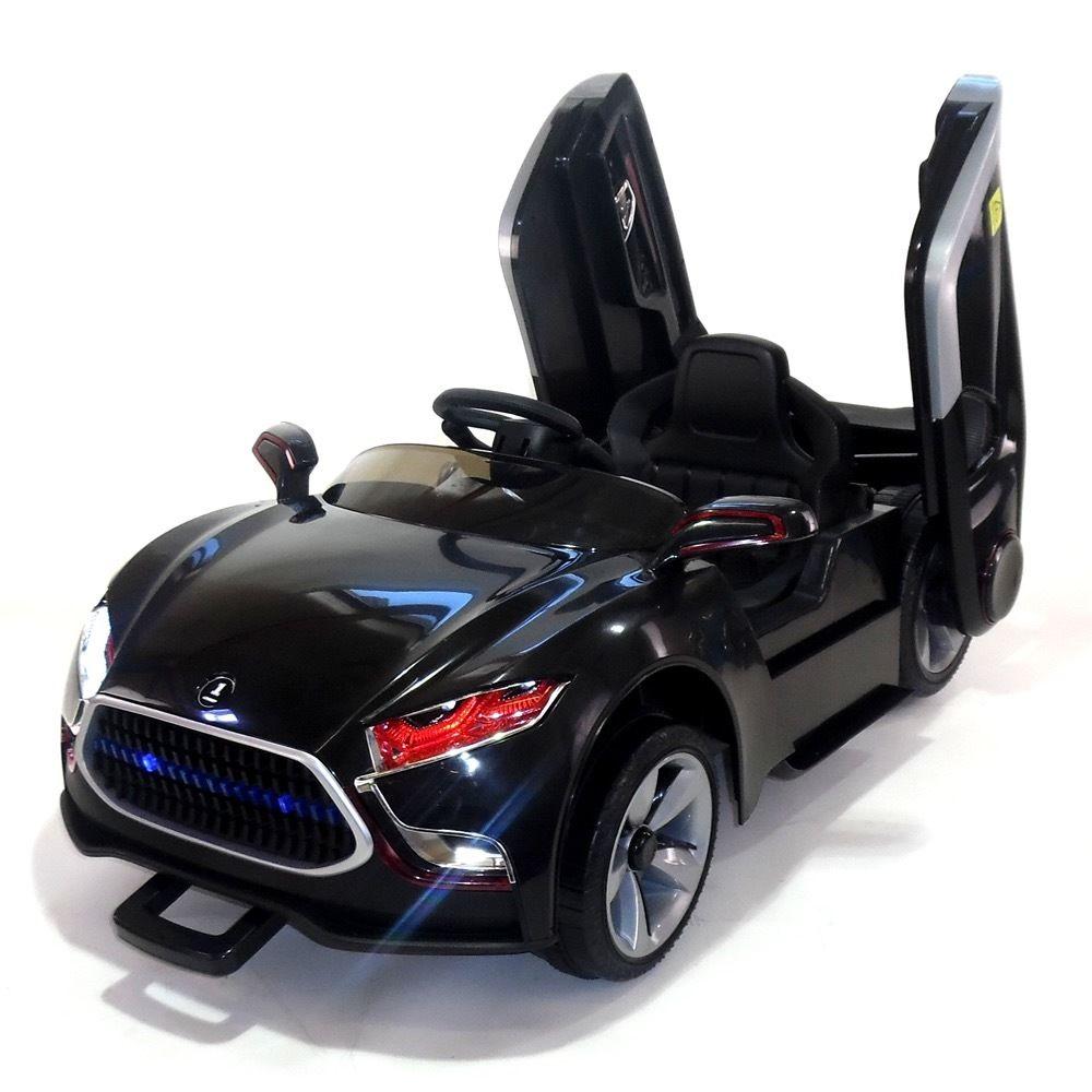 Masinuta electrica cu telecomanda 2.4 Ghz Future Black imagine