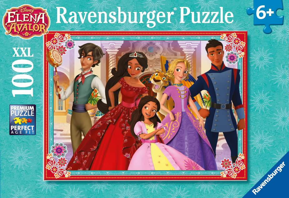 Puzzle Elena din Avalor 100 piese