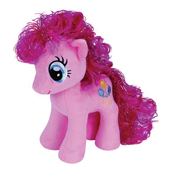 Plus licenta PINKIE PIE My Little Pony (18 cm) - Ty