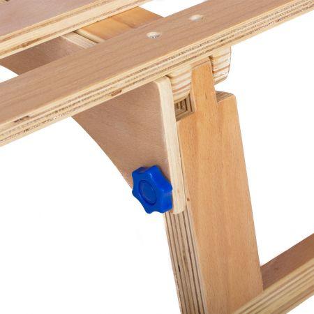 Sanie pliabila din lemn 110 cm