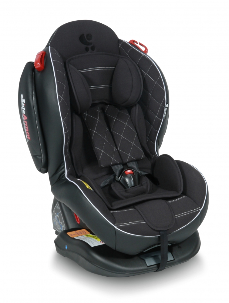 Scaun auto 0-25 Kg Isofix Arthur Sps Black Leather