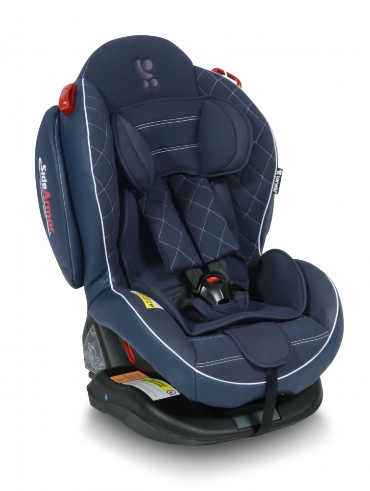 Scaun auto 0-25 Kg Isofix Arthur Sps Dark Blue Leather