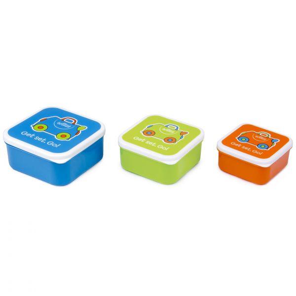 Set cutiute Trunki Snack Pots Blue