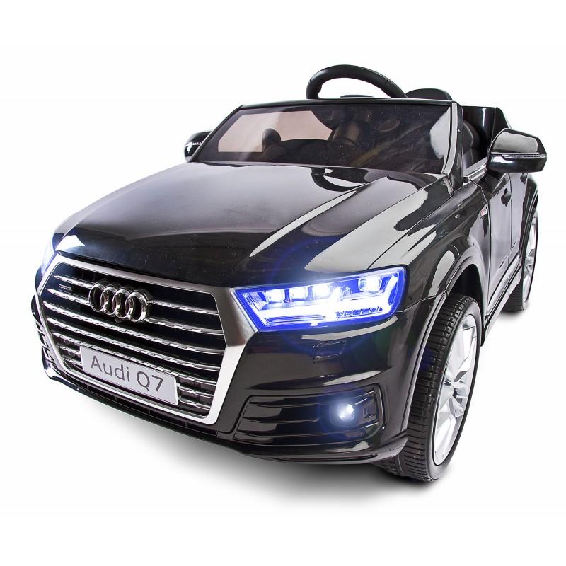 Masinuta electrica Audi Q7 12V cu telecomanda Black
