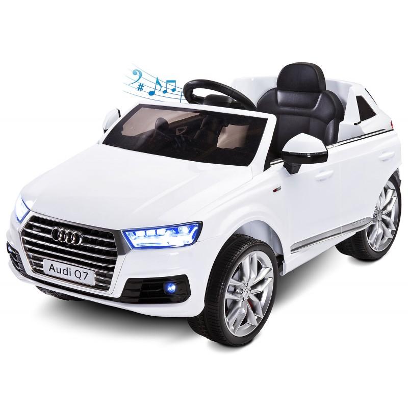 Masinuta electrica Audi Q7 12V cu telecomanda White